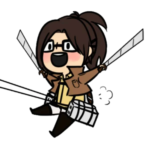 AOT Chibi 2 - Sticker 16