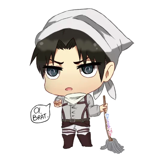 AOT Chibi 2 - Sticker 3