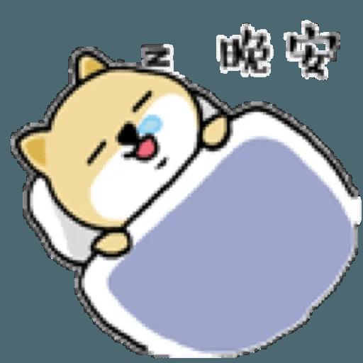 little shiba 1 - Sticker 6