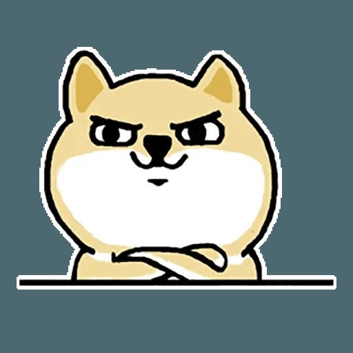 little shiba 1 - Sticker 24