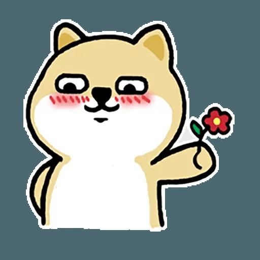 little shiba 1 - Sticker 21