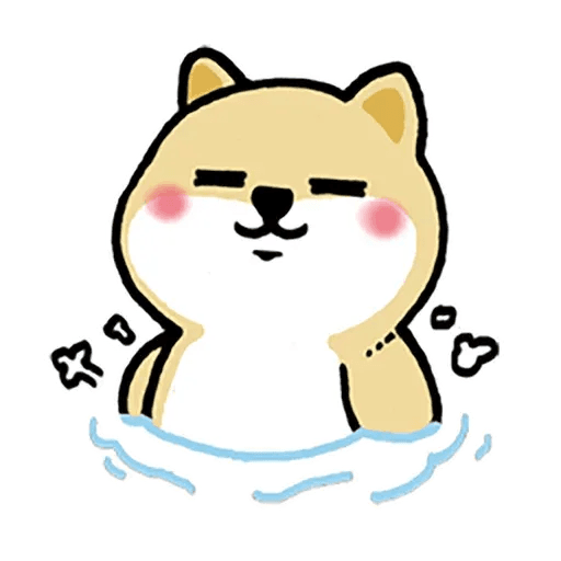 little shiba 1 - Sticker 28