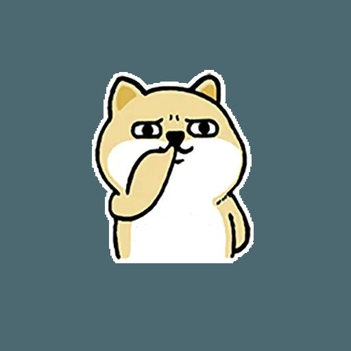 little shiba 1 - Sticker 20