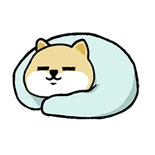 little shiba 1 - Sticker 14