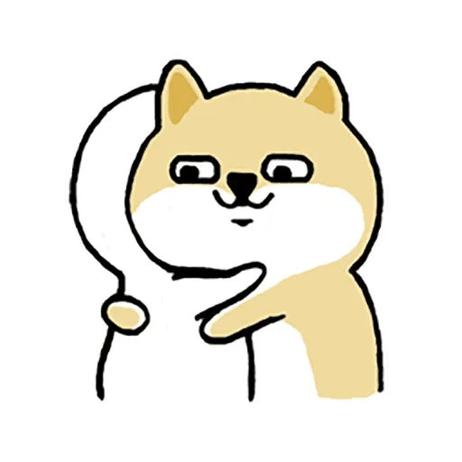 little shiba 1 - Sticker 10