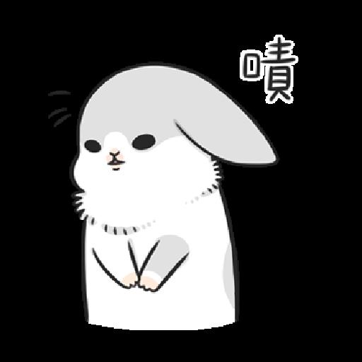 ㄇㄚˊ幾兔7 surprise, 無奈 - Sticker 21