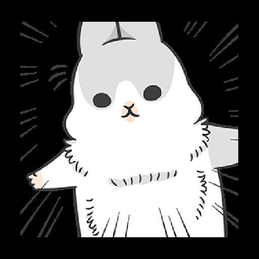 ㄇㄚˊ幾兔7 surprise, 無奈 - Sticker 14