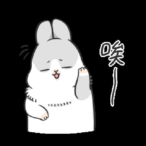 ㄇㄚˊ幾兔7 surprise, 無奈 - Sticker 22