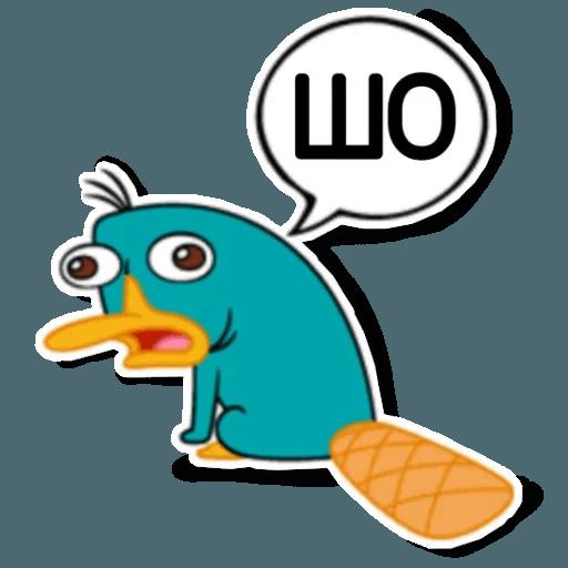 Phiheas & Ferb & Perry - Sticker 16