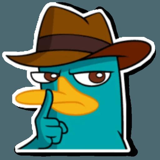 Phiheas & Ferb & Perry - Sticker 15