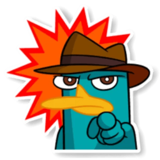 Phiheas & Ferb & Perry - Sticker 29