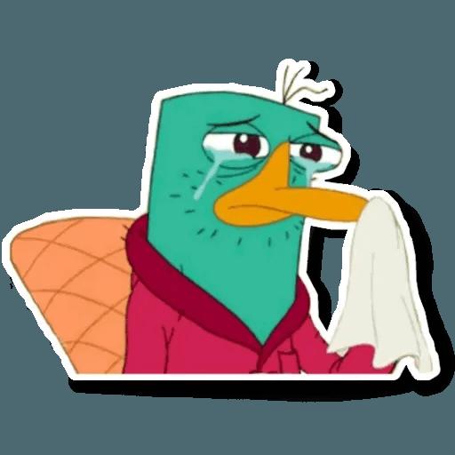 Phiheas & Ferb & Perry - Sticker 23