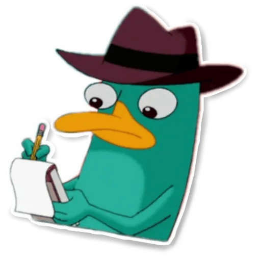 Phiheas & Ferb & Perry - Sticker 25