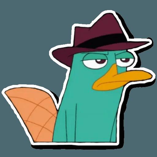 Phiheas & Ferb & Perry - Sticker 17