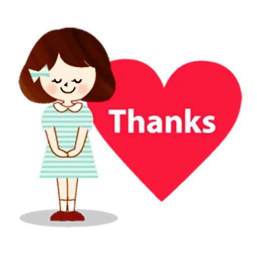 Thanks? - Sticker 2