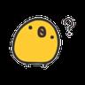 Chicky - Tray Sticker