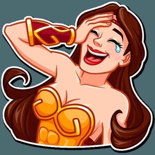 Warrior Queen - Tray Sticker