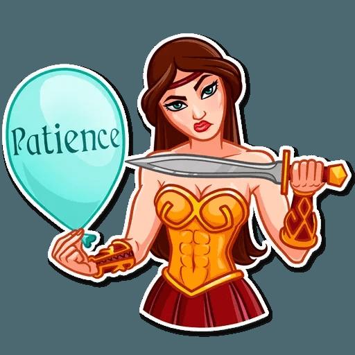 Warrior Queen - Sticker 21