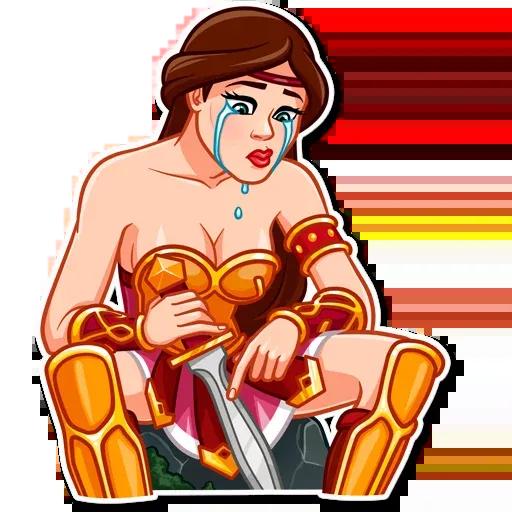 Warrior Queen - Sticker 28
