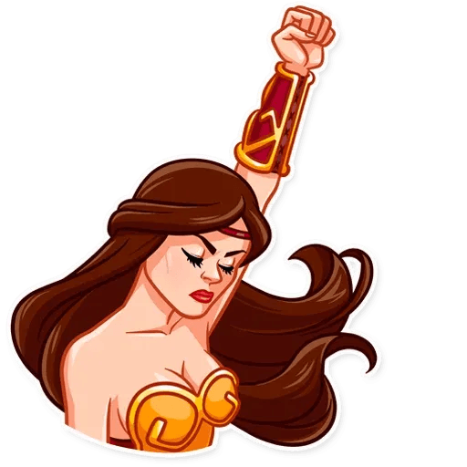 Warrior Queen - Sticker 12