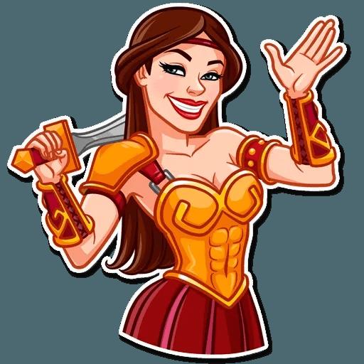 Warrior Queen - Sticker 4
