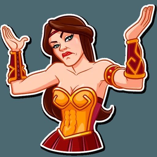 Warrior Queen - Sticker 6