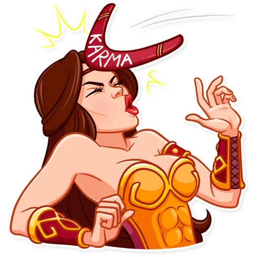 Warrior Queen - Sticker 29