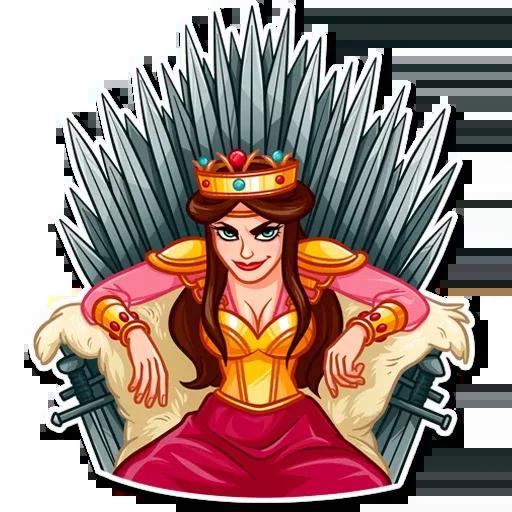 Warrior Queen - Sticker 30