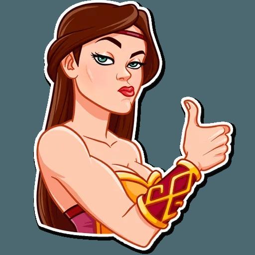 Warrior Queen - Sticker 3