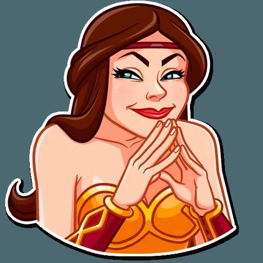 Warrior Queen - Sticker 20