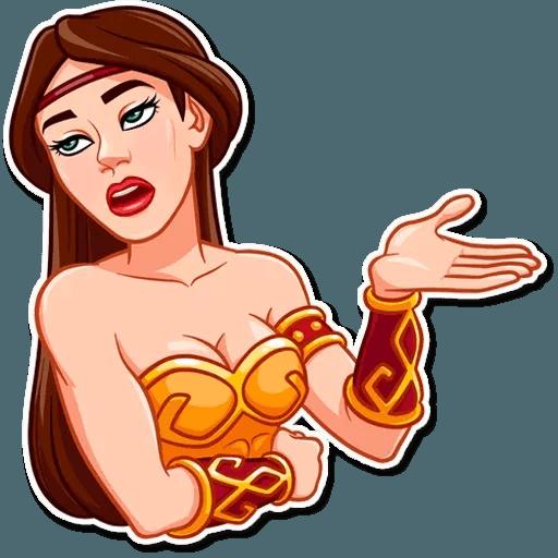Warrior Queen - Sticker 15