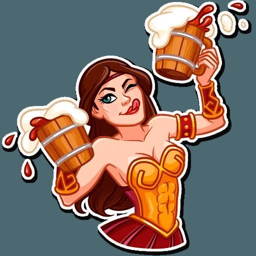 Warrior Queen - Sticker 16