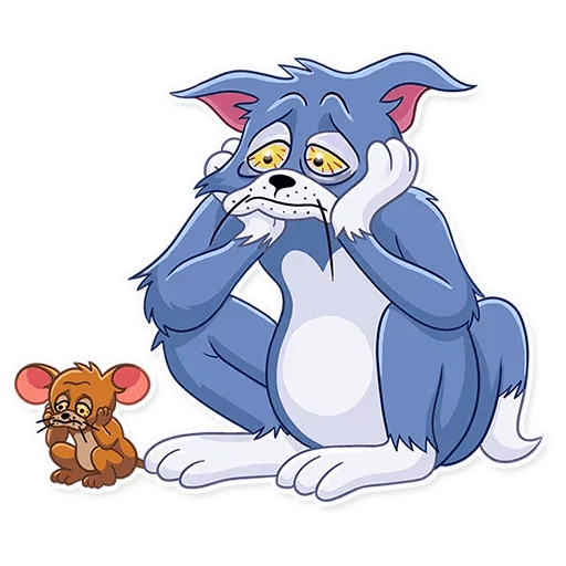 Tom and Jerry - Sticker 28
