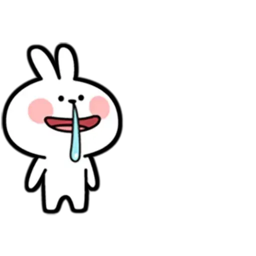 Hehe Spoiled Rabbit - Sticker 5