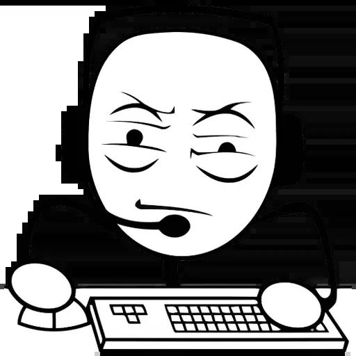 Desktop Guy - Sticker 9