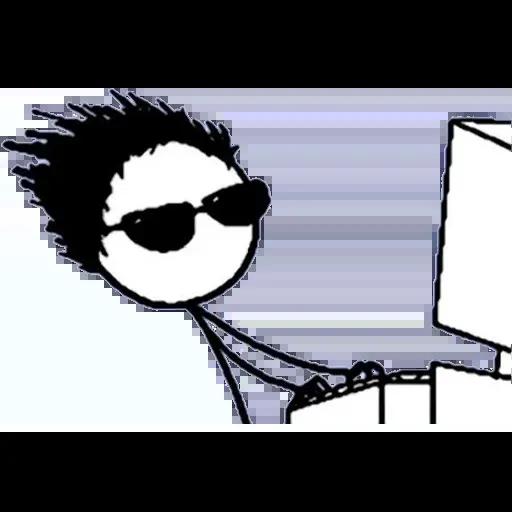 Desktop Guy - Sticker 12