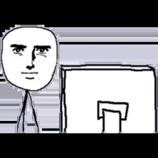 Desktop Guy - Sticker 2