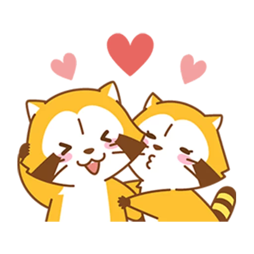 Happy Raccoon - Sticker 10