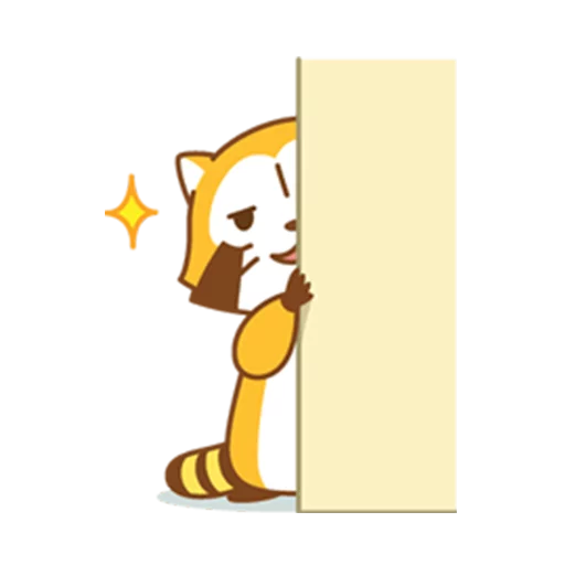 Happy Raccoon - Sticker 6