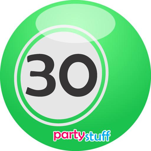 Tambola Bingo 1 - 30 - Sticker 30