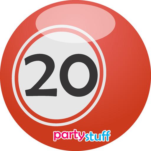 Tambola Bingo 1 - 30 - Sticker 20