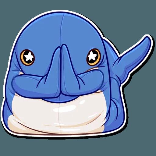 Blahaj - Sticker 4