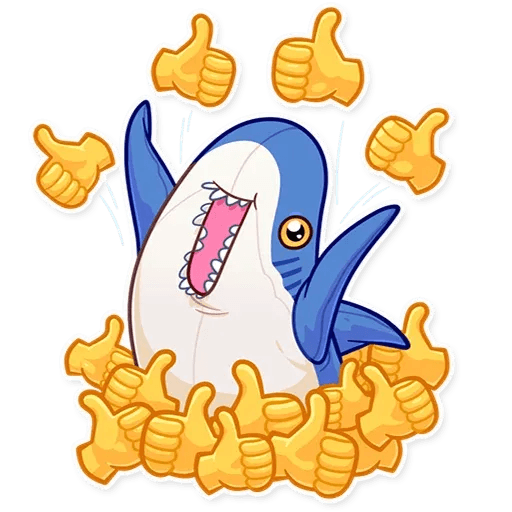 Blahaj - Sticker 15