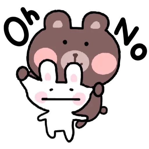 BU兔Bi熊 - Sticker 5