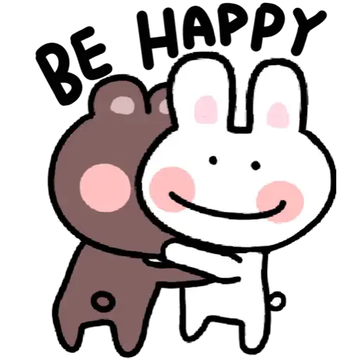BU兔Bi熊 - Sticker 3
