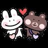 BU兔Bi熊 - Tray Sticker