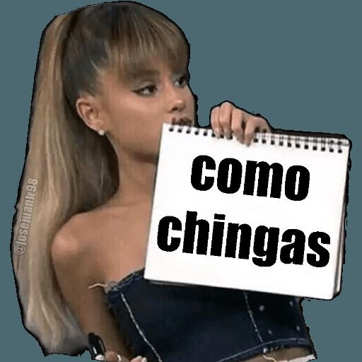Ariana Grande - Sticker 7