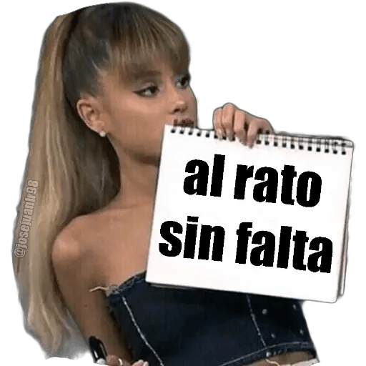 Ariana Grande - Sticker 22