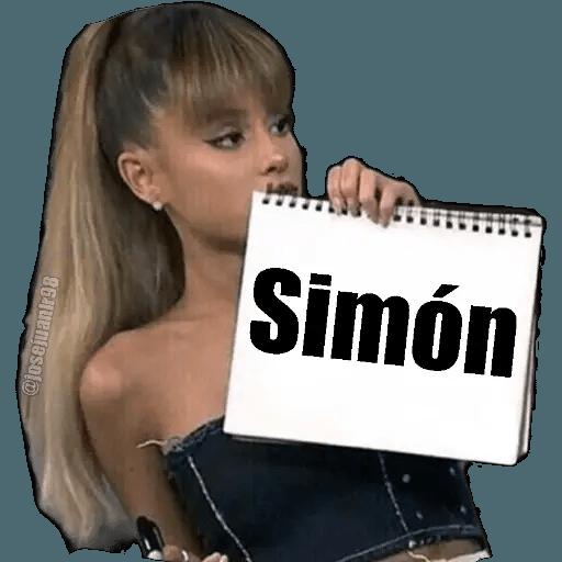 Ariana Grande - Sticker 29