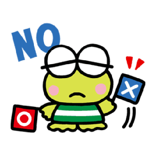Keroppi 3 - Sticker 3
